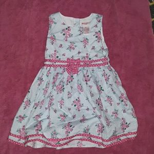 3T Nannette Kids - floral print sleeveless dress